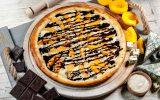 Пицца с Персиком и Дор Блю