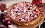 Пицца Греческая с беконом 30см